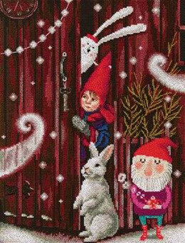 Rto Waiting for a Fairy Tale Cross Stitch Kit - Multi
