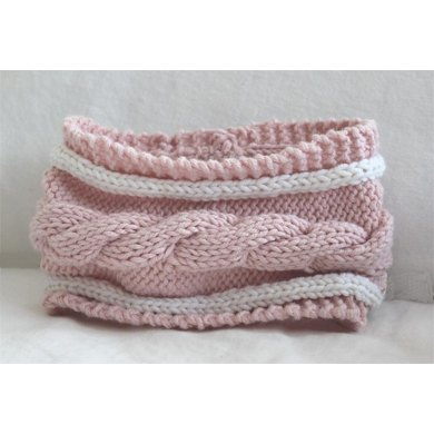 Child's Cable Cowl