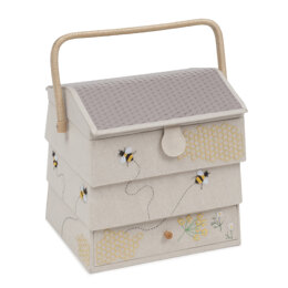 Groves Bumble Bee Hive Sewing Box with Drawer