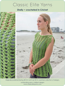 Shelly Top in Classic Elite Yarns Cricket - Downloadable PDF