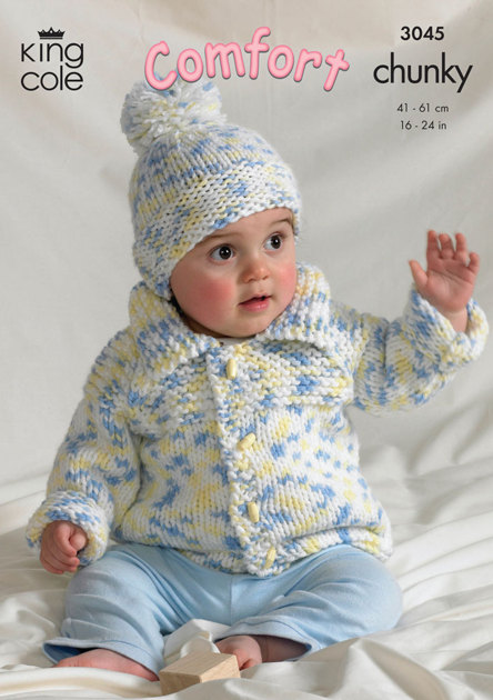 Sweater, Jacket, Bolero and Hat in King Cole Comfort ...