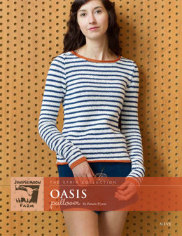 Oasis Pullover in Juniper Moon Farm Neve - Downloadable PDF