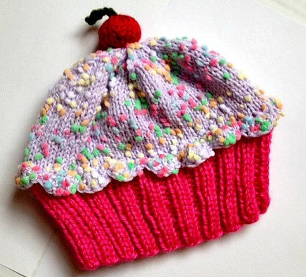 Cupcake Hat Knitting pattern by StellasKnits fed3d41dd36