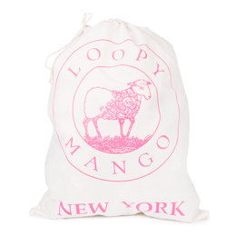 Loopy Mango Large Drawstring Bag