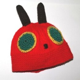 A Very Hungry Caterpillar Baby Hat