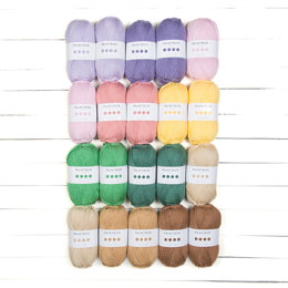 Paintbox Yarns Simply Aran 20 Ball Colour Pack Designer Picks