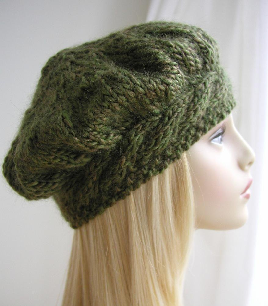 Weekend cable beret knitting pattern by julia marsh zoom bankloansurffo Images