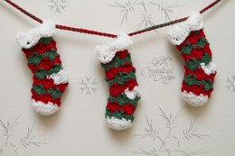 Prancer Stocking Bunting