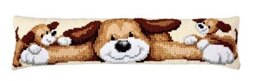 Vervaco Playful Pups Chunky Cross Stitch Kit