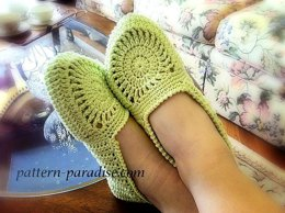 Pistachio Slippers for Women