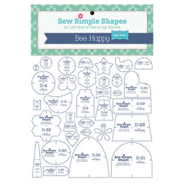 Riley Blake Sew Simple Shapes in Bee Happy