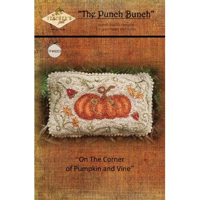 Teachers Pet Punch Bunch - On The Corner of Pumpkin and Vine - TP8003 - Leaflet