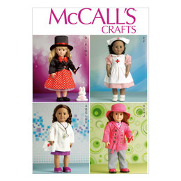 "McCall's Clothes For 18"" Doll M7031 - Sewing Pattern"