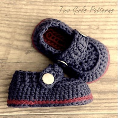 The Sailor Boot Crochet Booties