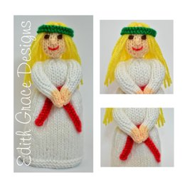 St. Lucia Doll - Toy Knitting Pattern