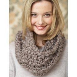 Twirling Cowl in Patons Cobbles
