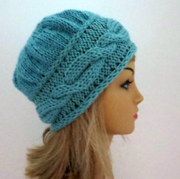 Brianna - A Feminine Hat and Headband in One Pattern