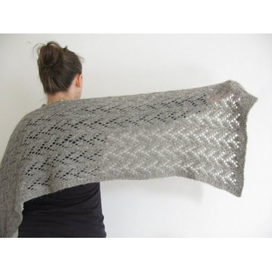 Felted Lace Wrap