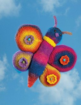 Colorful Butterfly Toy in Wisdom Yarns Poems - Downloadable PDF