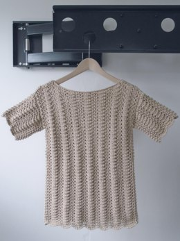 Linen and Lace Tee
