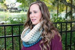 Winter Blooms Cowl