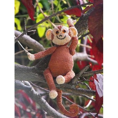 Sunny the Spider Monkey Madmicroknit