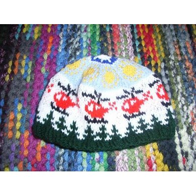Little helicopter kids beanie