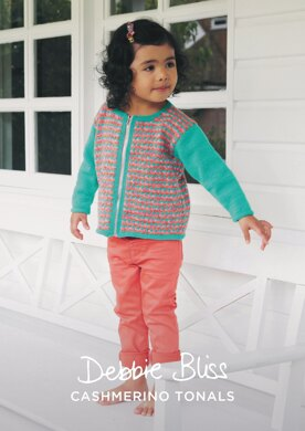 Clara Cardigan in Debbie Bliss Baby Cashmerino - DBS079 - Downloadable PDF