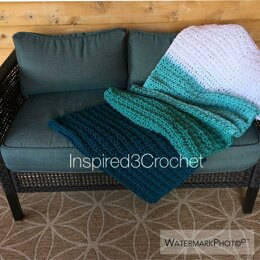 Tranquil Seas Throw Blanket