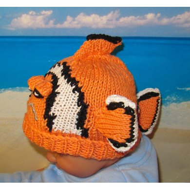 """Clowning Around"" Clown Fish Beanie"