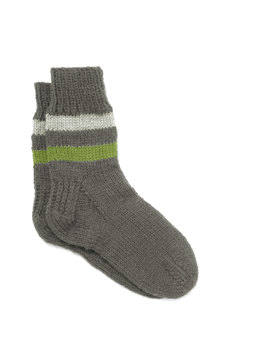 Men's Business Casual Socks in Lion Brand Wool-Ease - 90188AD