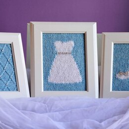 Happily Ever After Knitted Wall Art