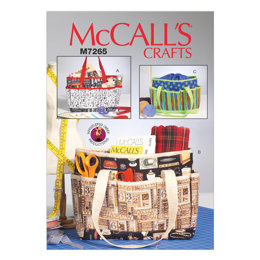 McCall's Project Totes M7265 - Sewing Pattern