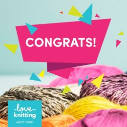 LoveKnitting eGift Card - Congrats!
