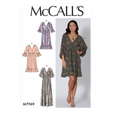 McCall's Misses' Dresses M7969 - Sewing Pattern