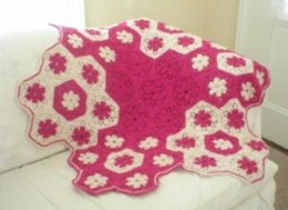 Baby's Crochet Flower Blanket