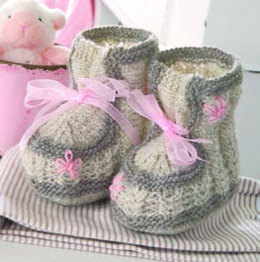 Booties in Regia 4 Ply 50g - R0032 - Downloadable PDF