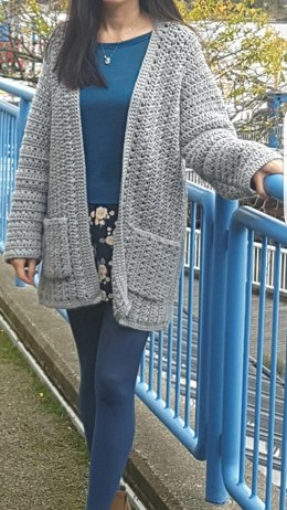 Simply X-Stitch Lounge Cardigan