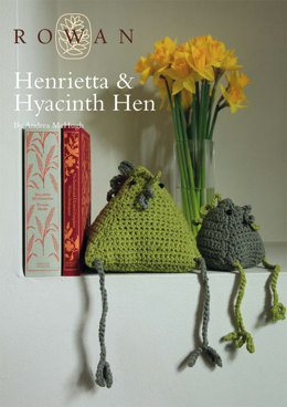 Henrietta and Hyacinth Hen in Rowan All Seasons Cott