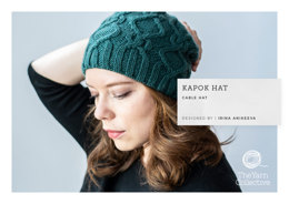 """Kapok Hat by Irina Anikeeva"" - Hat Knitting Pattern in The Yarn Collective"