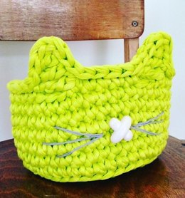 Cat O'Lantern Basket