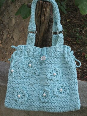 Turquoise summer bag