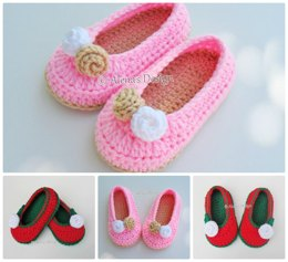 Toddler Rose Slippers