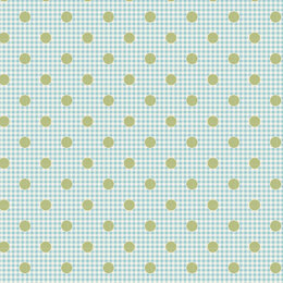 Tilda Happy Campers Cut to Length - Dot Teal