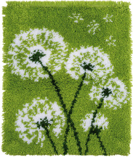 Vervaco Latch Hook Rug Kit Dandelion