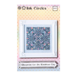 Ink Circles Blueprint for the Rainbow City - NKM71 -  Leaflet