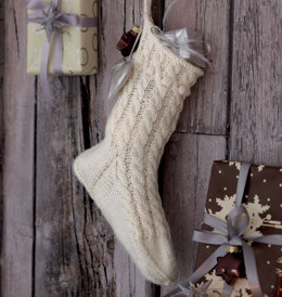 Christmas Stocking in Regia 4 Ply - R0099