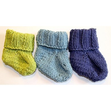 Sweet Cotton Baby Booties