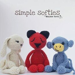 Simple Softies: 3in1 Beginners Amigurumi