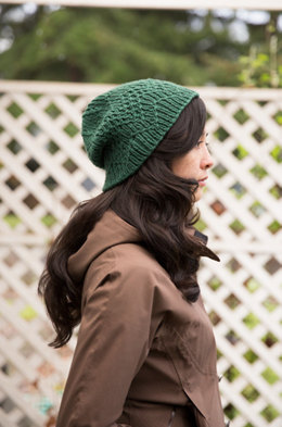Mountain Peaks Hat in Imperial Yarn Erin - PC49